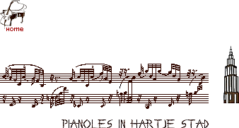 pianoles in hartje stad